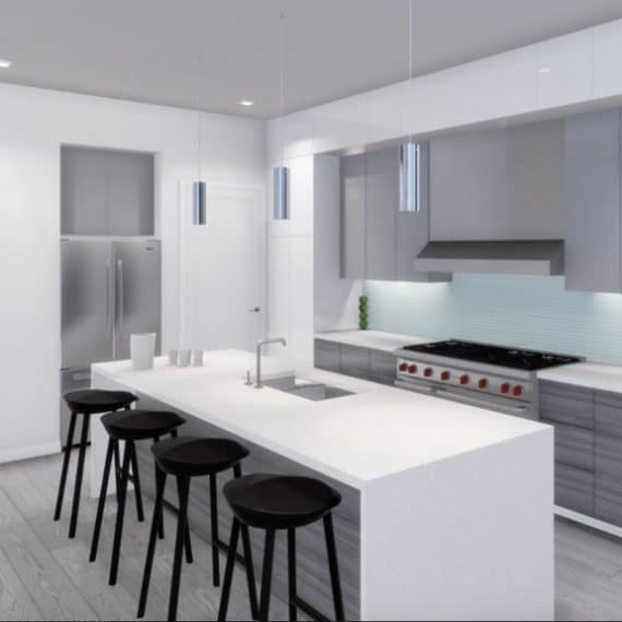 4101 Laclede Kitchen
